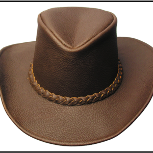 Leather, Outback & Cowboy HATS