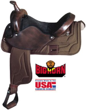 Big Horn Cordura Nylon Saddles