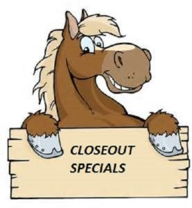 OVERSTOCK & CLOSEOUT SPECIALS