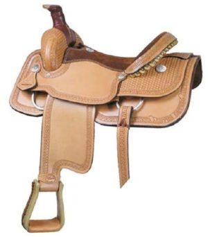 Western Saddles, Leather