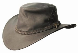 No. 7H43Darwin Kangaroo Leather Hat