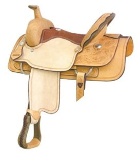"No. 291787HAMILTON ROPER by Billy Cook, 14"" Seat"