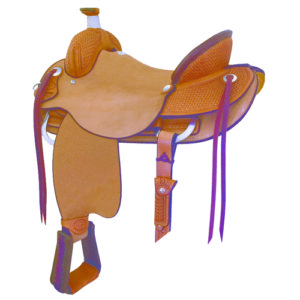 "No. 29181055Trinidad Roper Saddle 15 1/2"" Seat"