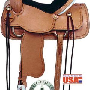 """No. 1635High Roper Saddle 15 or 16"""" Seat (BlemishSale)"""
