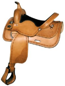 "No 1640Big Horn Flex Tree Trail Saddle 16""  (Blemishe Sale)"