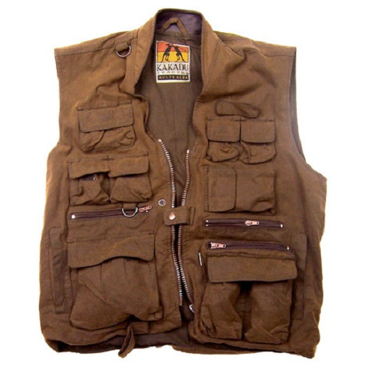 No. C4V14Gunn-Worn Traveller Vest