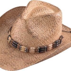No. 3201-43Henschel Walker Burnished Raffia Straw Hat