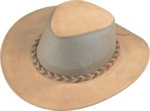 No. 0208-13Explorer, Cowhide Leather Suede Breezer-Tan