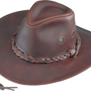 No. 0303-44Hiker, Crushable Waxed Cowhide, Chestnut