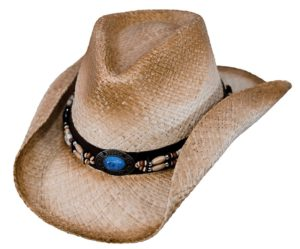 No. 15063Socorro, Raffia Straw Hat, Tea Color