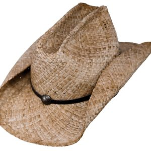 No. 1571Buckaroo Raffia Straw, Tea Color