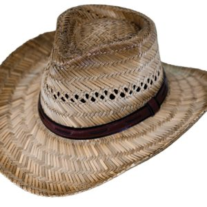 No. 15097Chesapeake Rush Straw Hat, Tea Color