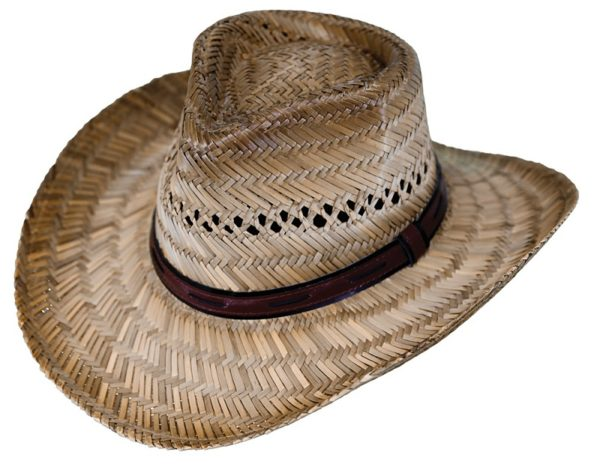 No. 15097Chesapeake Rush Straw Hat, Tea Color