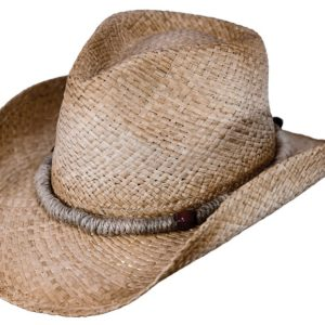 No. 15117Heyfield Raffia Straw Hat, Tea Color