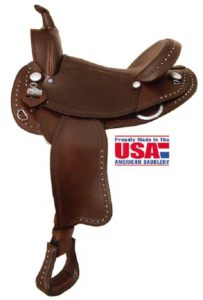 "Big Horn A00873, A00876Big Horn Mule Trail Saddle 16"" Seat"