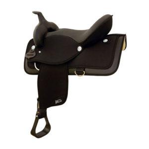 Abetta No. 20516Abetta Equis Super Cushion Saddle, Sq Skirt