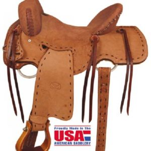 "Big Horn A00850Big Horn Shooter Saddle 15"", 16"" - FQH Bars"