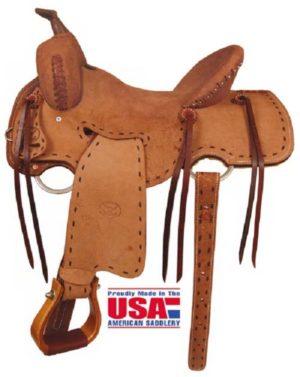 "Big Horn A00850Big Horn Shooter Saddle 15"", 16"" - FQH Bars"