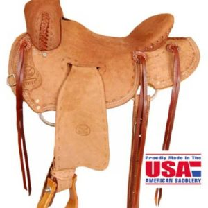 Big Horn A00852Ranch Roper Saddle, 16""