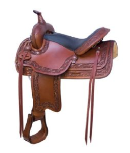 "No. 293400Simco Navajo Trail Saddle By Billy Cook, 16"", 17"""