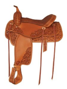 "No 292509Mobile Saddle by Tex Tan, 16"" Seat"