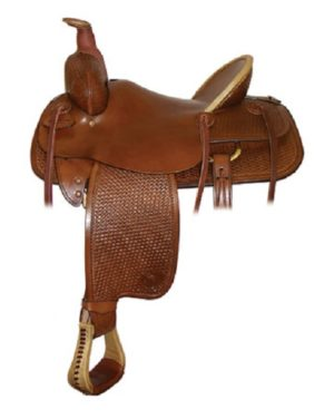 "No. 292803Prescott Trail Saddle, by Tex Tan. 16"", 17"" Seat"