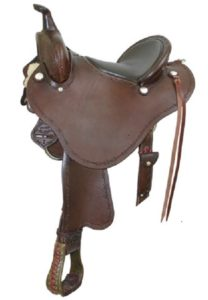"No. 291477Stealth Trail Saddle By Billy Cook 15"". 16"" Seat"