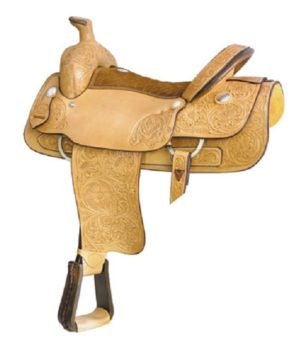 "No 291765Big Boss Roper Saddle by Billy Cook 17"", 18"" Seat"