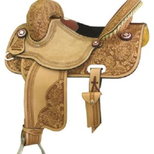 "No 292205Gator Half Breed Racer Saddle, Connie Combs 14"" 15"""