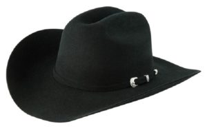 Coronado Black 4X 100% Wool Felt Hat by Cardenas Hats