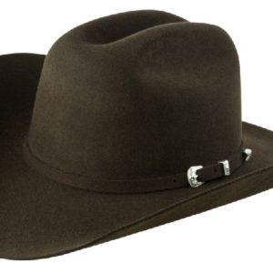 Coronado Chocolate 4X 100% Wool Felt Hat by Cardenas Hats