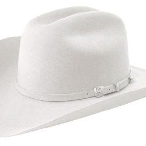 Coronado Light Grey 4X 100% Wool Felt Hat by Cardenas Hats