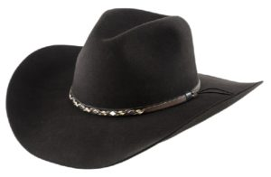 Sonora Chocolate 4X 100% Wool Felt Hat by Cardenas Hats