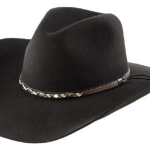 Sonora Chocolate 4X 100% Wool Felt Hat by Cardenas Hats