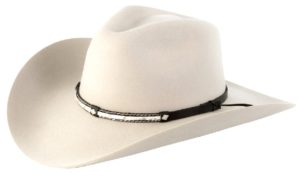 Santa Cruz Silver Belly 4X Wool Hat by Cardenas Hats