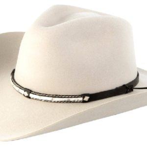Santa Cruz Silver Belly 4X Wool Hat by Cardenas Hats