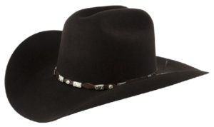 Tucson Chocolate 4X 100% Wool Felt Hat by Cardenas Hats