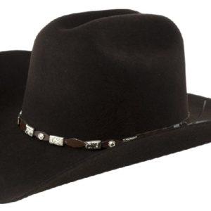 Tucson Chocolate 4X 100% Wool Felt Hat by Cardenas Hats
