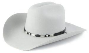 Tucson Light Grey 4X 100% Wool Felt Hat by Cardenas Hats