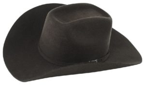Monterrey Chocolate 3X 100% Wool Felt Hat by Cardnas Hats