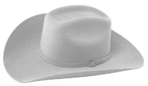 Monterrey Light Grey 3X 100% Wool Felt Hat by Cardnas Hats