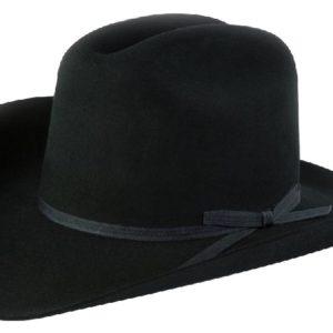 Ranchero Black 3X 100% Wool Felt Hat by Cardnas Hats