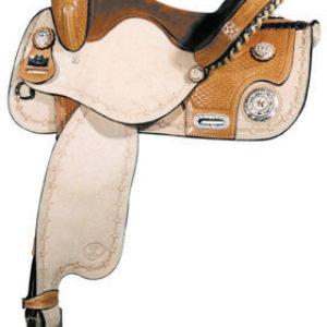 Big Horn Buckaroo Wade Tree Saddle, No 1788-16 Quarter Horse