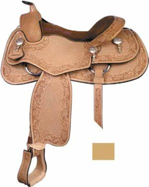"No. 291376Todd Bergen Reiner Saddle, 15"", 15 1/2"" & 16"""