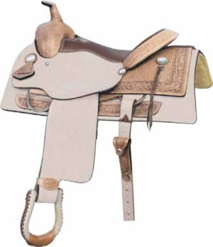 "No. 291187TEXAS T PENNER SADDLE, by Billy Cook 16"" Seat"