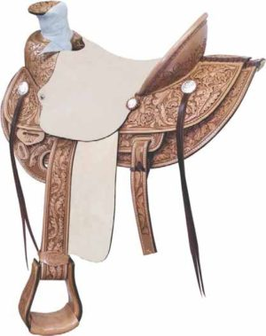 No. 291806LONE STAR WADE RANCH SADDLE, 15 1/2 and 16 Inch