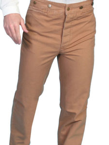 No.  RW040 Canvas Pants 100% Cotton Canvas. Color Brown