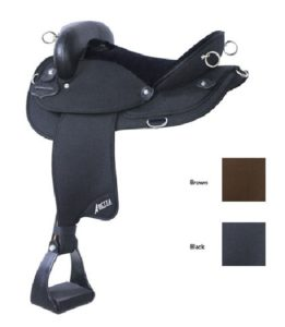 "No 20510Abetta Endurance Nylon Saddle, 15, 16, 17"" Seat"