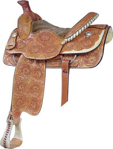 No 291523 Saddlesmith Lady Roper Saddle 14 1 2 Quot Inch