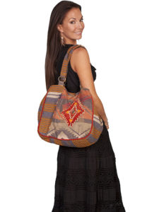 No. C16 Cantina Handbag 90% Cotton, 10% Poly, Color: Rust